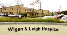 Hospice entrance