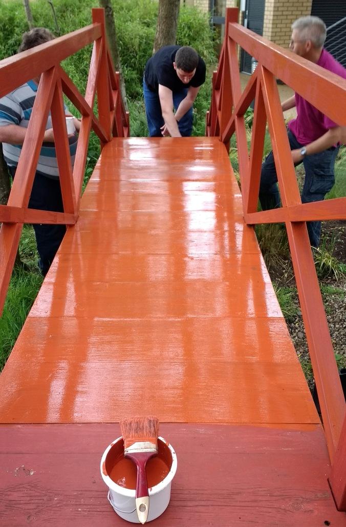 Painting Chinese Bridge
